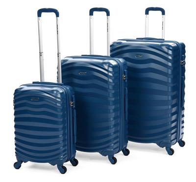 Travel Gear Premium Set Of 3 -20/26/30, Blue