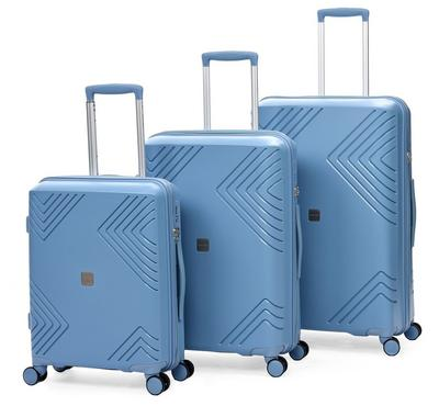 Travel Gear Pp Set Of 3 -20/24/28, Blue
