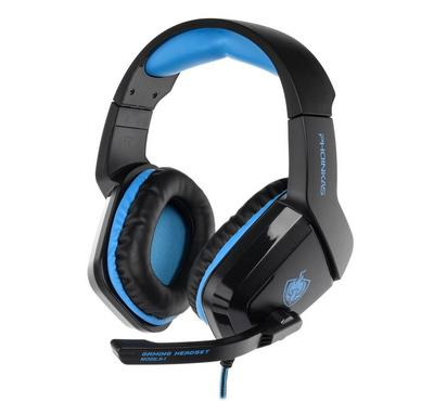 Pro Gaming Headset  with mic for PS4, Black and Blue
