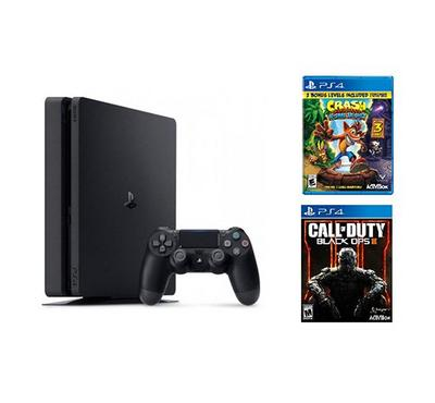 Sony PS4, 1TB console with 2 games (COD BOP3, crash) and 30 days subscription bundle