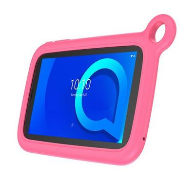 Alcatel 1T 8068, 7 Inch, WiFi, 8GB, Black with Pink Bumber Case