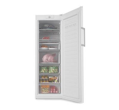 Simfer Upright Freezer 10.2 Cu.ft, 5 Drawers 2 Flap, Food Divider, No Frost Freezing, Color White