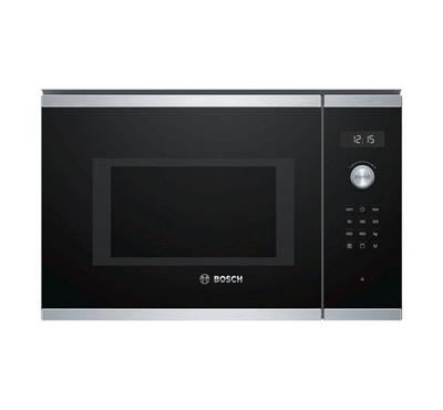 Bosch, built in Microwave with Grill function, 25Ltr, stainless steel