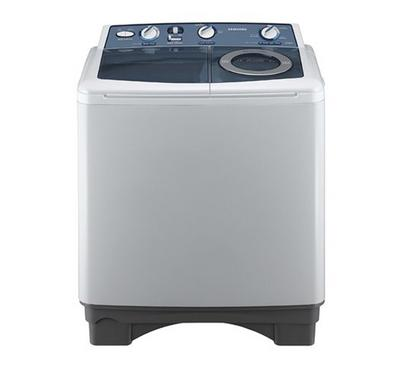 Samsung Twin tub Washer, 7.5kg, Air Turbo Drying,Spining 1300 RPM, White Color