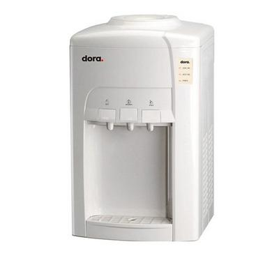 Dora Table Top Water Dispenser, Hot and Cold,Grey White
