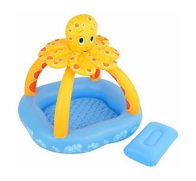 بست واي، مسبح طفل مع مظلة اخطبوط، مقاس 102*102*102 سم