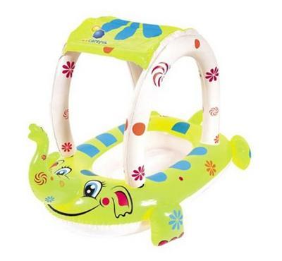بست واي، قارب سباحة شكل فيل مع مظلة، مقاس 81*58 سم