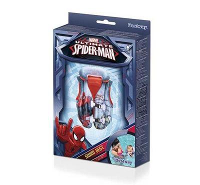 Bestway Spider-Man Swim Vest 51L x 46W cm