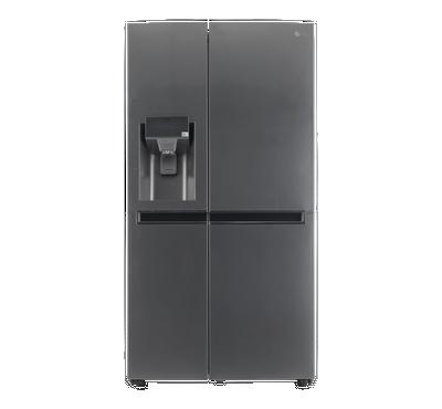 LG SBS Refrigerator 21.2 Cu.ft, Pocket Handle,Silver