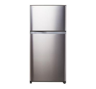Toshiba Fridge Top Mount Freezer, Inverter, 820.0L, Bright Silver