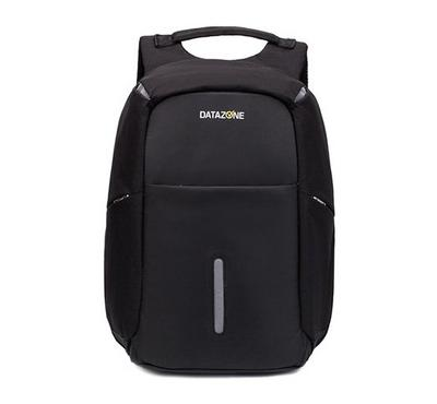 Datazone BP07 Anti-theft Back Bag 15.6 with USB, Black