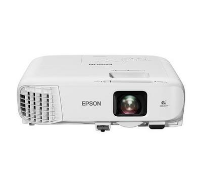 EPSON XGA Projectors, White, Mobile, 1024 x 768, 4.3, 4,400 lumen