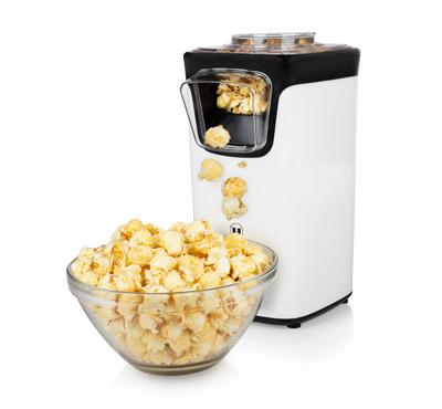 Princess Popcorn Maker, 1100W, Plastic, White