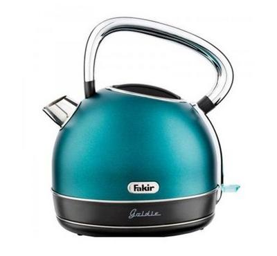 Fakir GOLDIE 1.7L Dome Kettle 2200W Stainless Turquoise