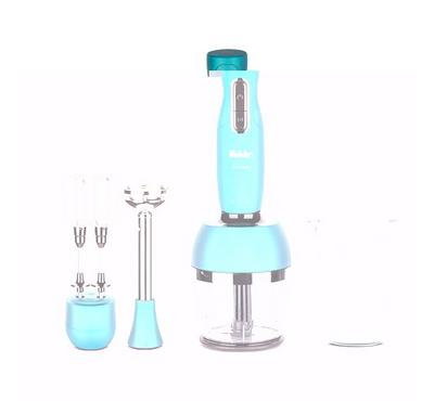 Fakir LUCCA 0.5L Hand Blender With Chopper Set 1000W Turquoise