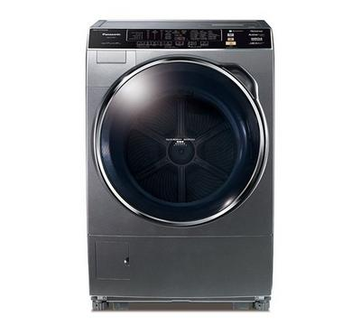 Panasonic Front Load Fully Automatic Washer/Dryer - 17 Kg Wash 8Kg Dryer,Dark Silver