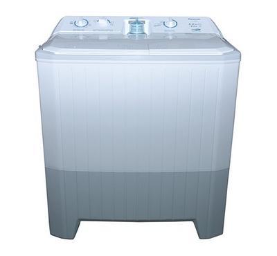 Panasonic Twin Tub Washer 8Kg Wash , Spin Dry 8Kg, Plastic No Rust Body, White