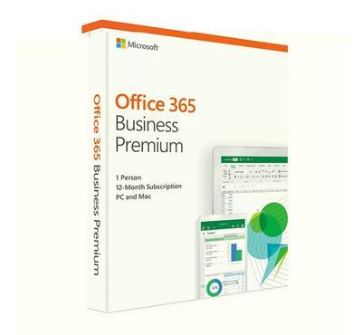 Microsoft Office 365 Business Premium Retail Mac/Win, 1 Year 1 User