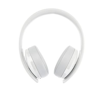 Sony playstation gold Wireless Headset 7.1 Surround Sound white