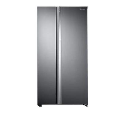 Samsung Side by Side, Refrigerator 620Ltr., 21.9 Cu.ft.Silver