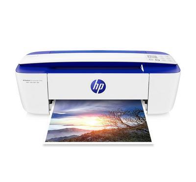 HP DeskJet 3790 All-in-One Printer, Print, Copy, Scan, Wireless, White
