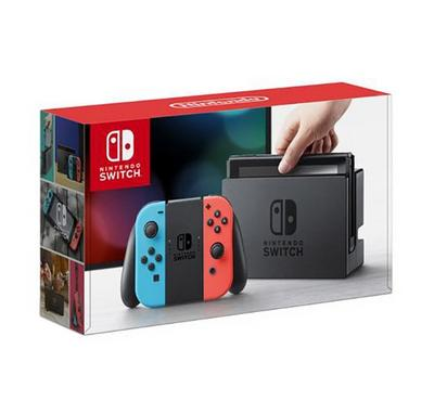 Nintendo Switch Red/blue console, 2 assorted games