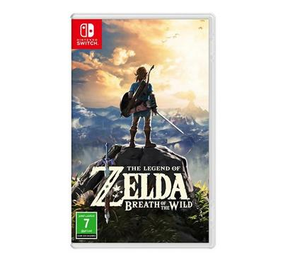Nintendo Switch Red/blue console + zelda + 1 assorted accessory