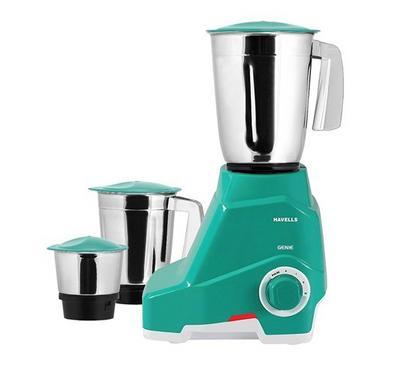 Havells Mixer/Grinder GENIE, 3-in-1, 1.5L, 550W, Stainless Jar, Green