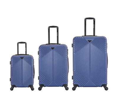 Travel Vision Trolley Set 3 Pcs Blue