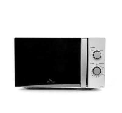 SK Magic Microwave Oven. 20L, White Silver.