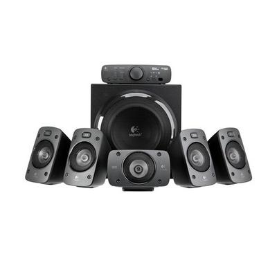 LOGITECH Z906 Surround Sound Speakers, Black