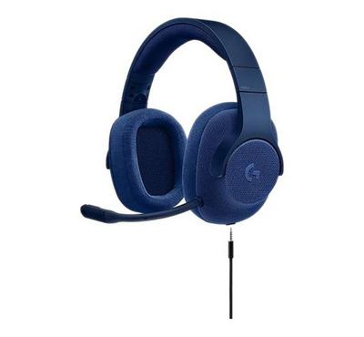 LOGITECH G433 Gaming Headset 7.1 Surround, Royal Blue