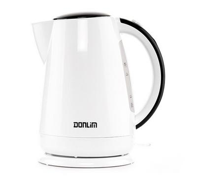 Donlim Jug Lighting Kettle, 1.7L, 2200 Watts, White