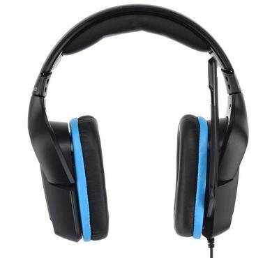 LOGITECH G432 Gaming Headset, USB, Black