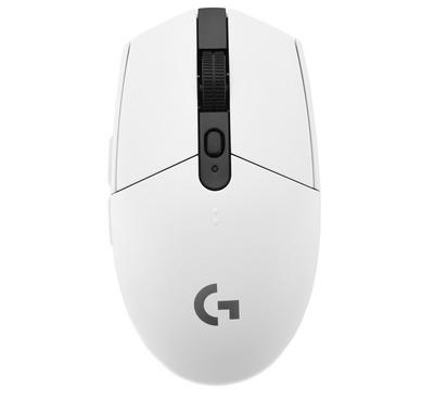 LOGITECH G305 LIGHTSPEED Wireless Gaming Mouse, White