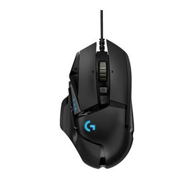 LOGITECH G502 HERO High Performance Gaming Mouse, Black