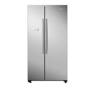 Hisense 741L Side by Side Refrigerator Silver