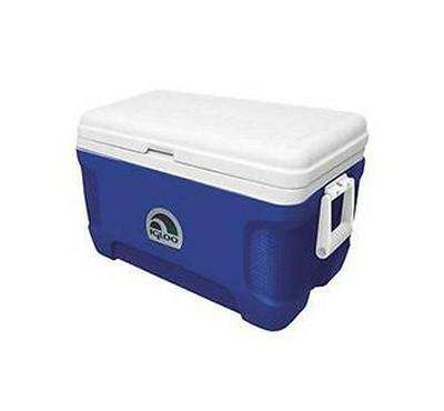 Igloo 52 Qt. Coolbox 83 Can Capacity, Blue