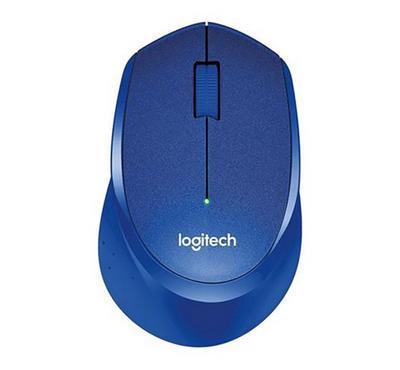 LOGITECH M330 Mouse SILENT PLUS, Blue