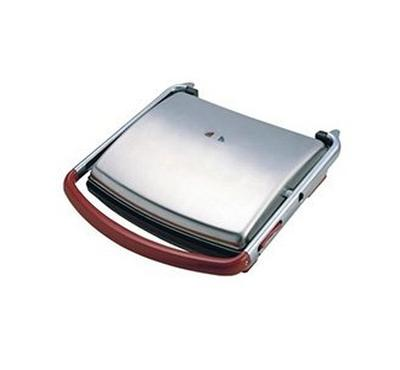 Donlim Health Grill, 1400W, Stainless Steel Body. Cool Touch Grill , Non-Stick Heating Plate