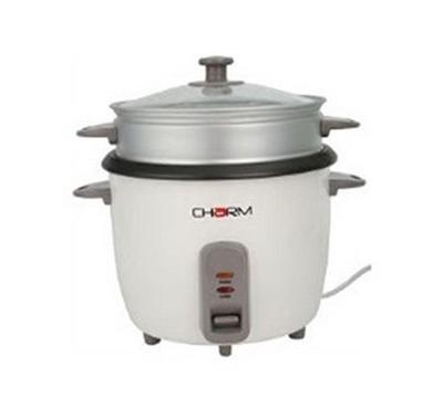 Charm Rice Cooker. 1.8L, with Cooling Indicator,700 W, White