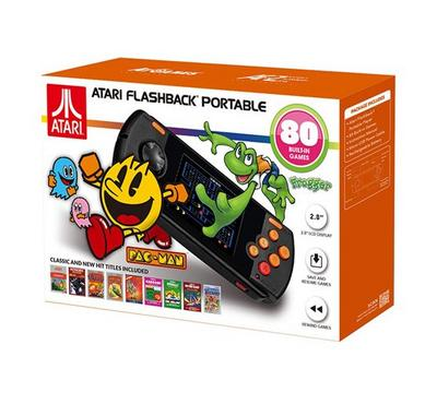 Atari Flashback Portable with 80 built-In Games AP3280