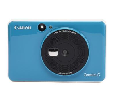Canon 5MP Zoemini C Instant Camera Printer ,Seaside Blue