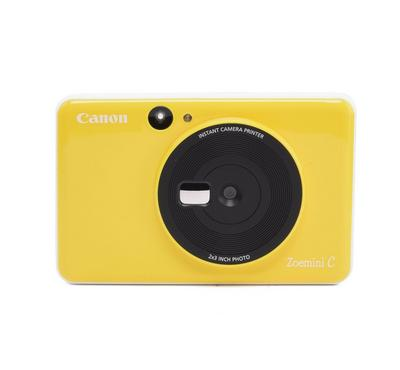 Canon 5MP Zoemini C Instant Camera Printer,Bumble Bee Yellow