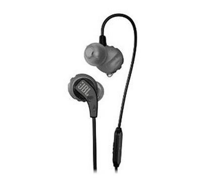 JBL In Ear Wired Headphone with Microphone and One Button Control, Black