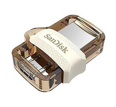SANDISK Ultra 64GB Dual Drive, White-Gold, Retail, 4x6 Insert