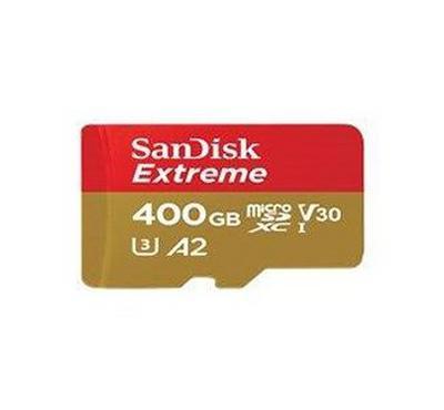سانديسك بطاقة اكستريم، سعة 400 جيجابايت -160 ميجابايت / ثانية مع الادابتر