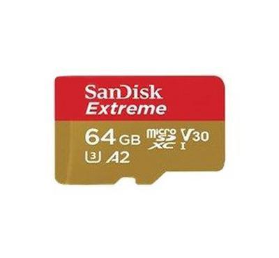 SANDISK Extreme Pro microSDXC 64GB plus SD Adapter