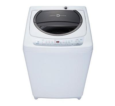 Toshiba Top Load Washer, 10 Kg, with Pump,White