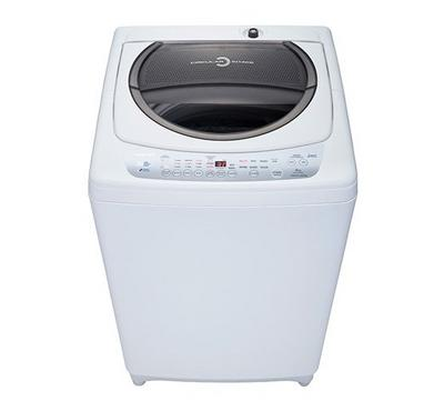 Toshiba Top Load Washer, 9 kg, with Pump,White